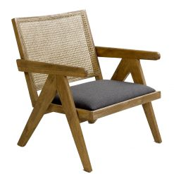Armchair Wood and Linen