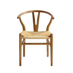 Dining Chair Ash Wood Beige 3