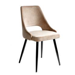 dining chair velvet beige