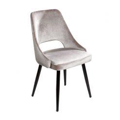 dining chair velvet cream