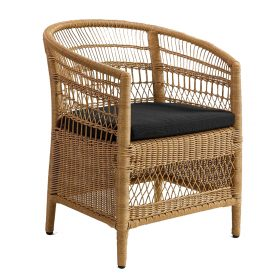 rattan chair exterior A