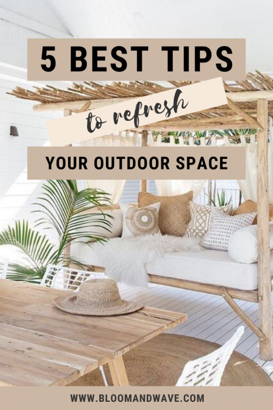 Refresh Your Terrace Tips