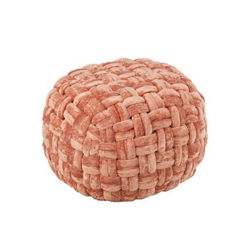 pouf bola coral