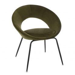 dining chair round khaki