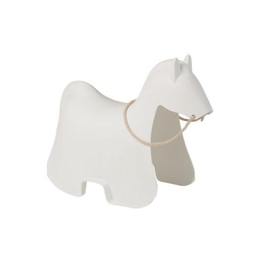 horse chair white kids